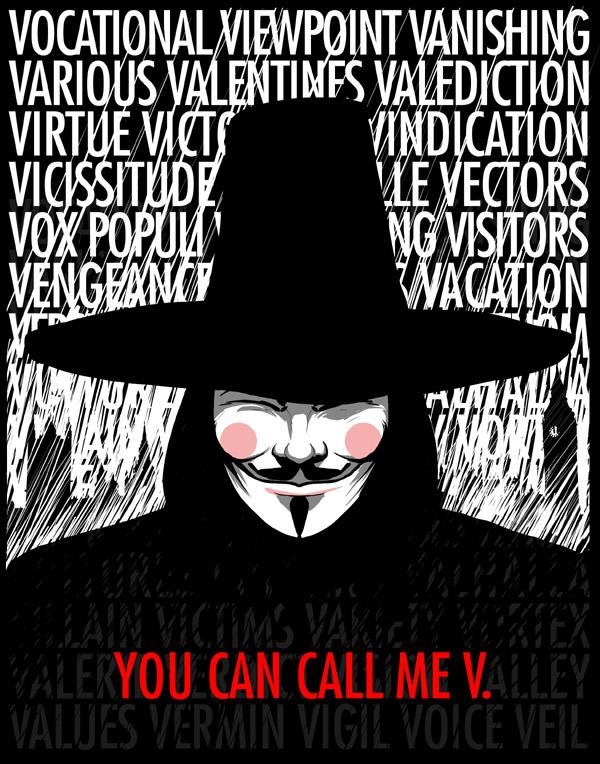 Lectie de dictie cu V for Vendetta