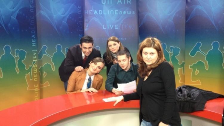 Al doilea proiect de știri – seria 8 @Școala de Televiziune