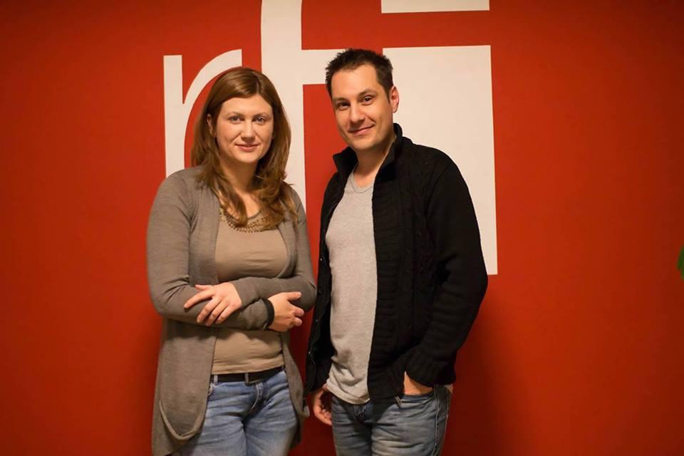 Carmen Si Valentin Panduru la RFI