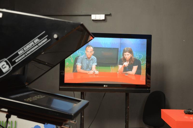 Știrile de televiziune, adrenalină în stare pură