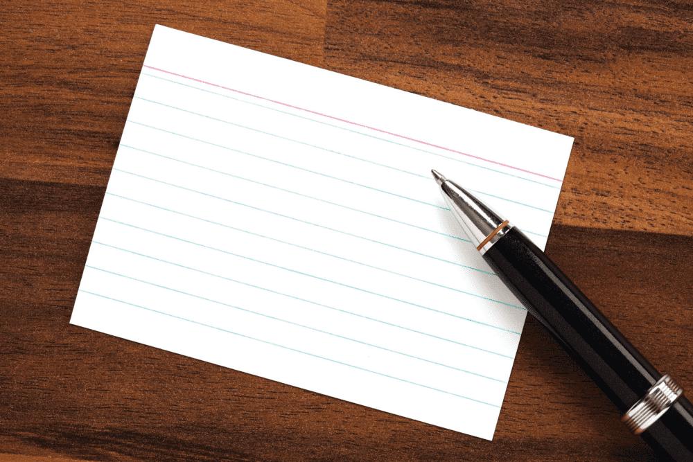 Cum să-ți pregătești notițele pentru discurs