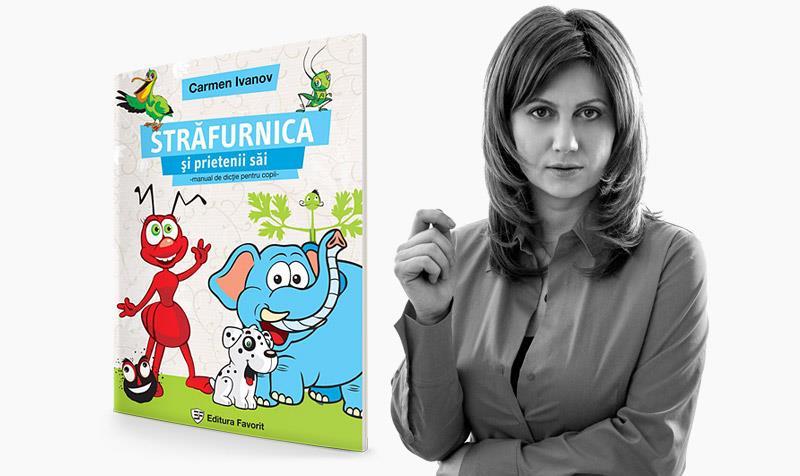 Cum vorbeşte copilul tău? Carmen Ivanov a ticluit un manual de dicţie pentru copii