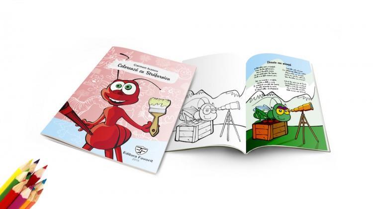"""S-a lansat cartea """"Colorează cu Străfurnica"""""""