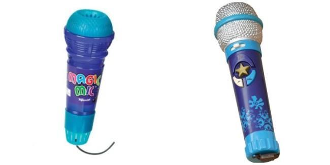 microfon de jucarie
