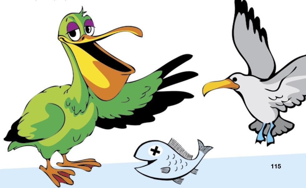 Străfurnica și pescărușul Piști – Exercițiu pentru T și Ș
