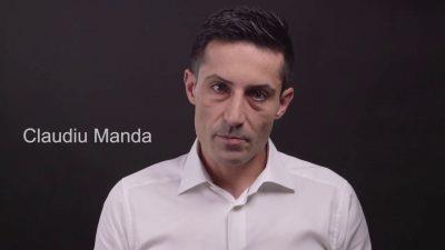"Senatorul PSD, Claudiu Manda, are probleme cu gramatica: a inventat cuvântul ""admolestat"""