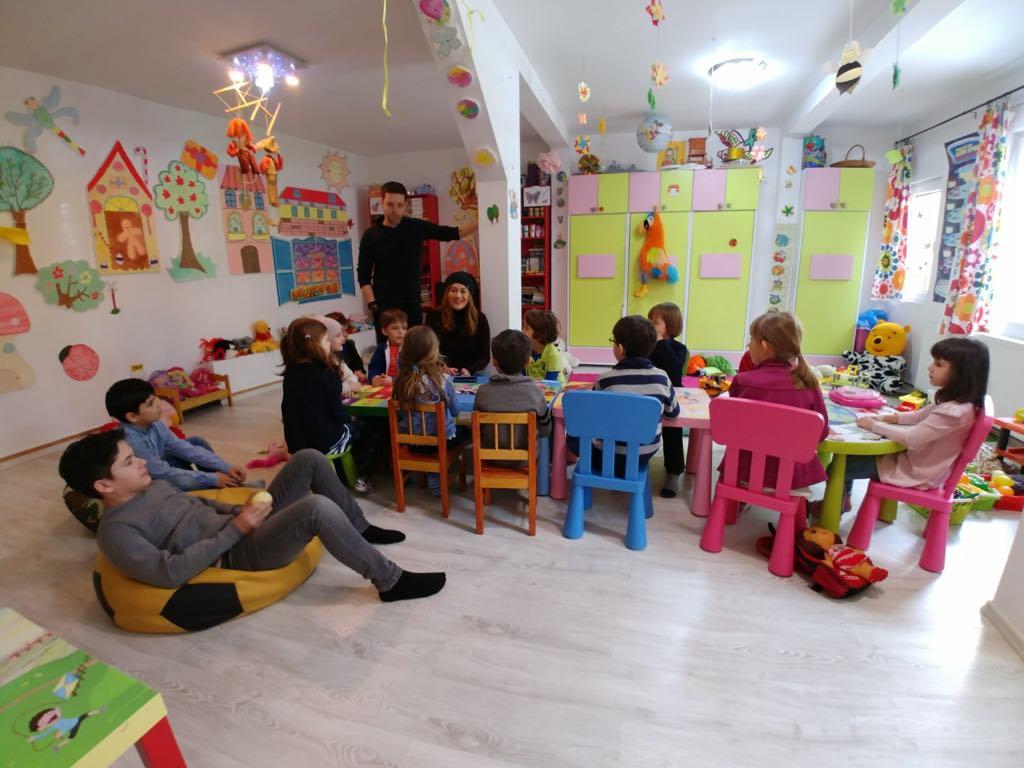Cum a fost la Atelierul de dicție pentru copii – FOTO