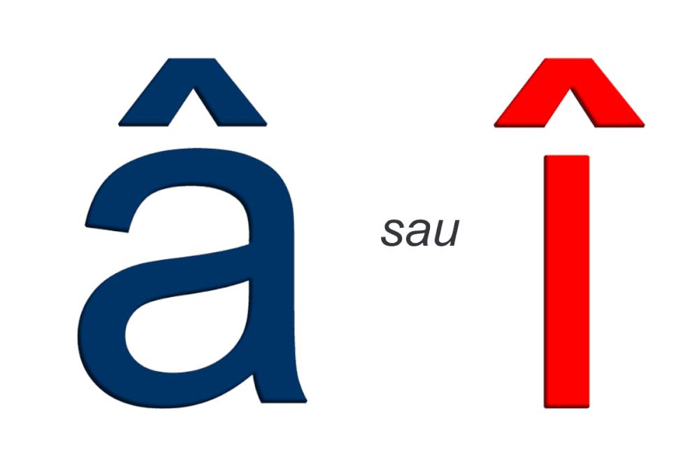 """Când scriem cu """"î"""" și când scriem cu """"â"""""""