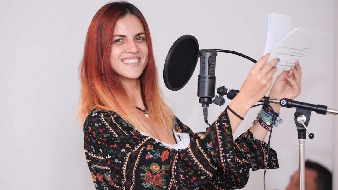 Silvia Pompieru: Cum a fost la cursul de Voice-Over