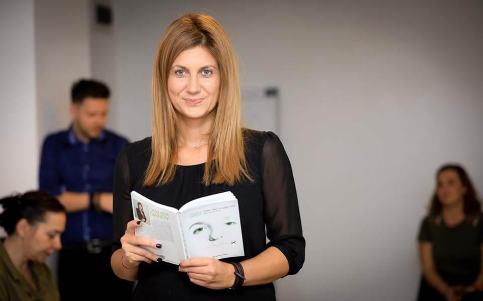 Carmen Ivanov, la TVR, în cadrul emisiunii Vorbește corect!