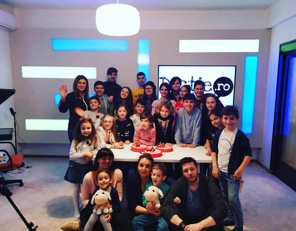 Prima zi la Școala TV pentru copii
