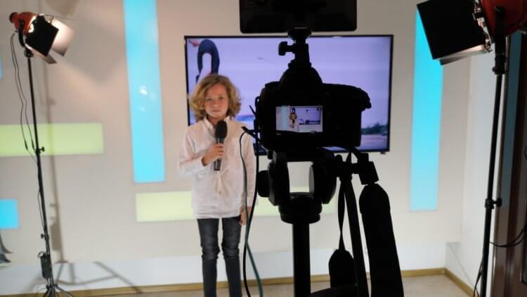 Au început filmările la Școala TV pentru copii