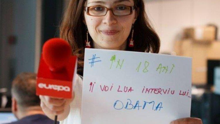 Copiii prezintă vremea la radio cu Alexa Stănescu (Europa FM)