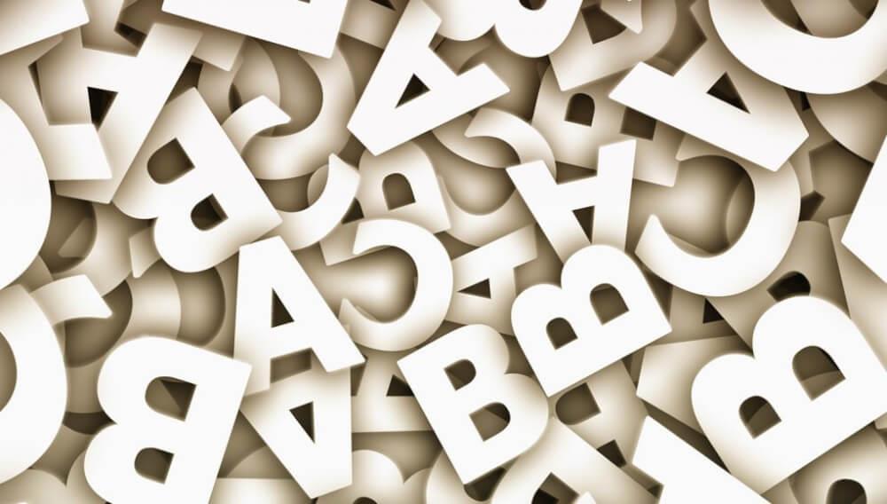 Scrierea cu literă mică și literă mare