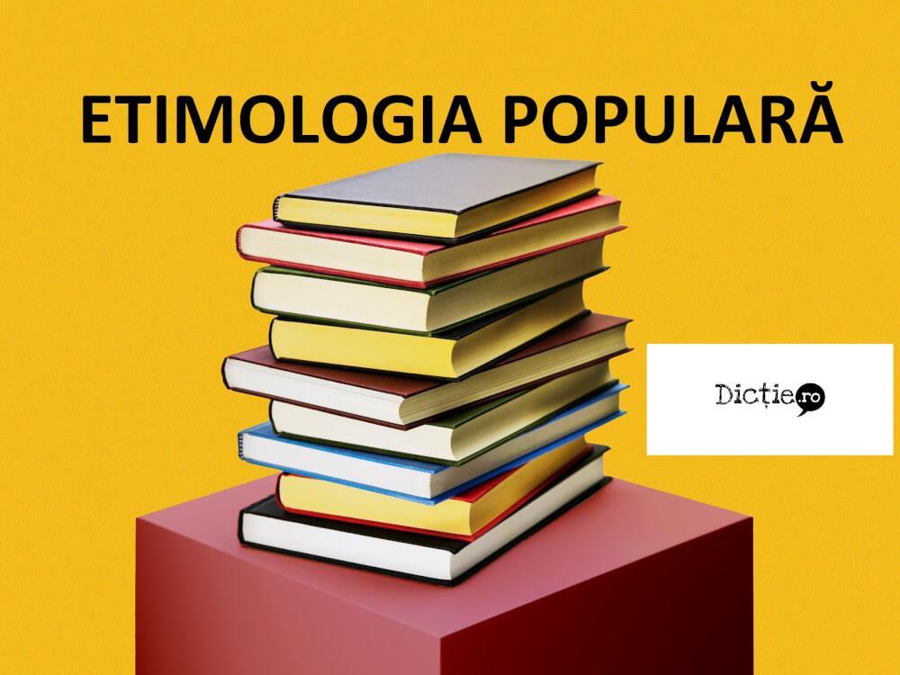 Etimologia populară: exemple și excepții