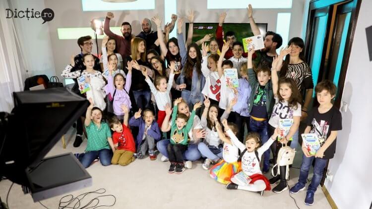 Tabăra de Televiziune și Radio pentru copii Dicție.ro