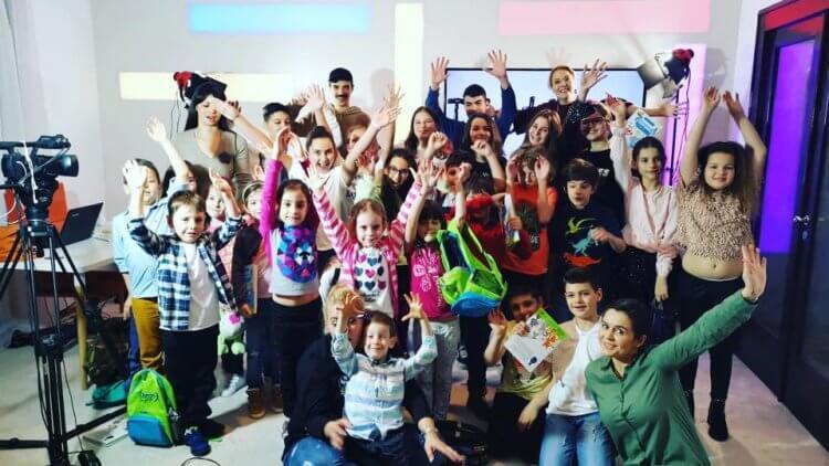Cursuri de actorie la Școala TV pentru copii