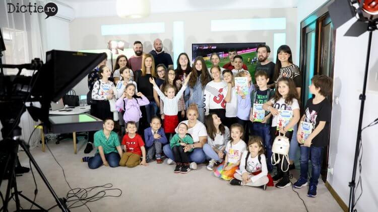 Școala de Dicție,  la TVR 3 – Arte, Carte și Capricii