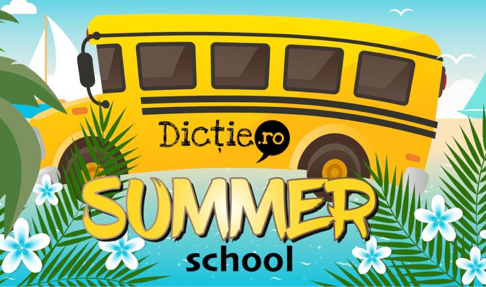 Dicție.ro deschide Summer School în iulie