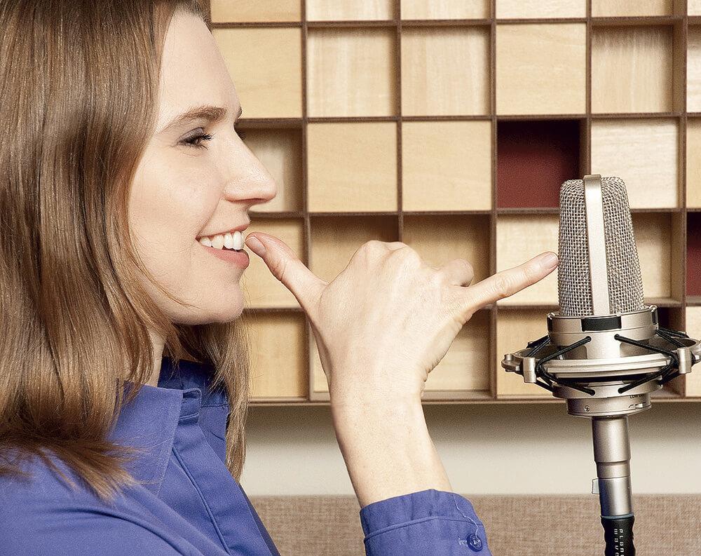 Voice-over: antrenament constant pentru o tehnică bună
