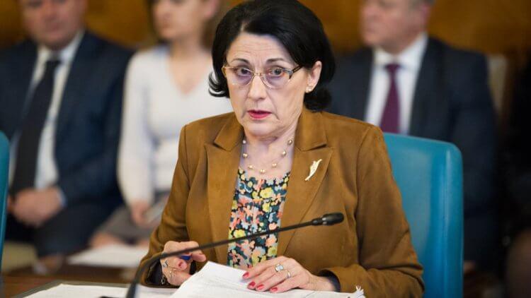 """Ministrul Educației, E. Andronescu: """"Orice evaluare evaluează subiectele pe care examenul le presupune în evaluarea respectivă"""""""