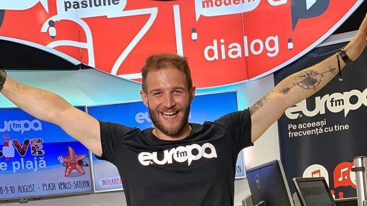Alex Grecu, student Dicție.ro, de azi prezentator la Radio Europa FM