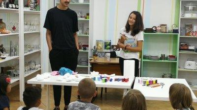 Atelier de pictură pentru copiii cu posibilități reduse din sectorul 6 al Capitalei