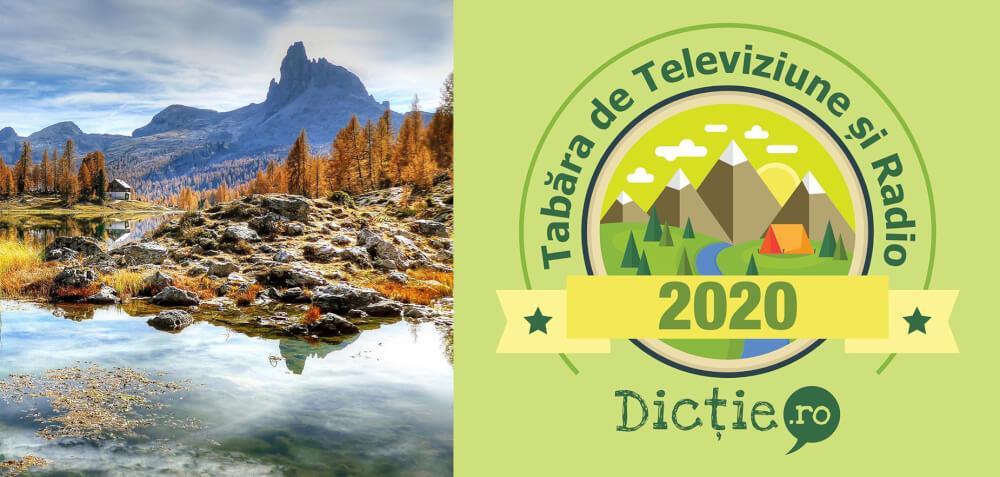 Tabăra de Televiziune pentru adulți, 06-12 septembrie 2020, la Bușteni
