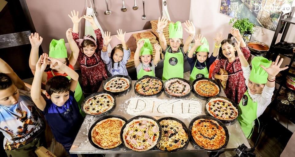 Mini Chef: Pizza, pizza, pizza la Școala TV pentru copii – Dicție.ro