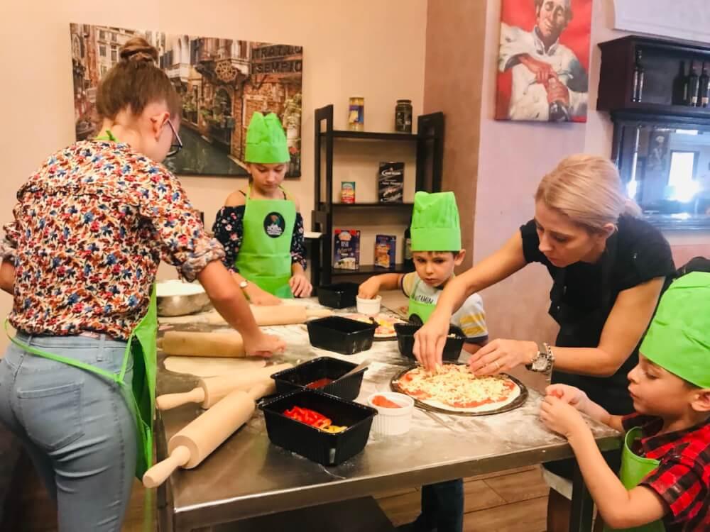 Începem filmările la emisiunea cu copii Mini Chef – Pizza, Pizza, Pizza!