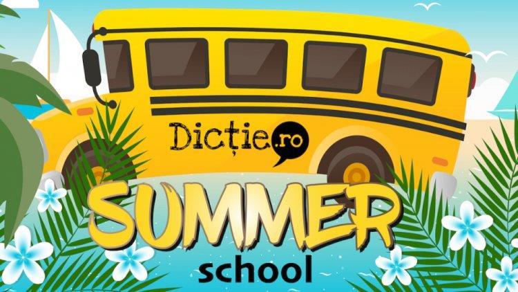 Dicție.ro deschide înscrierile pentru Summer School 2020