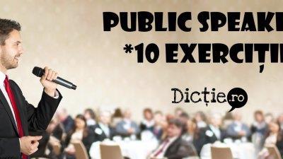 Public speaking: sfaturi, jocuri și activități