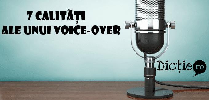7 calități pe care orice voice-over ar trebui să le aibă