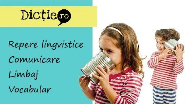 Reperele lingvistice ale copiilor mici