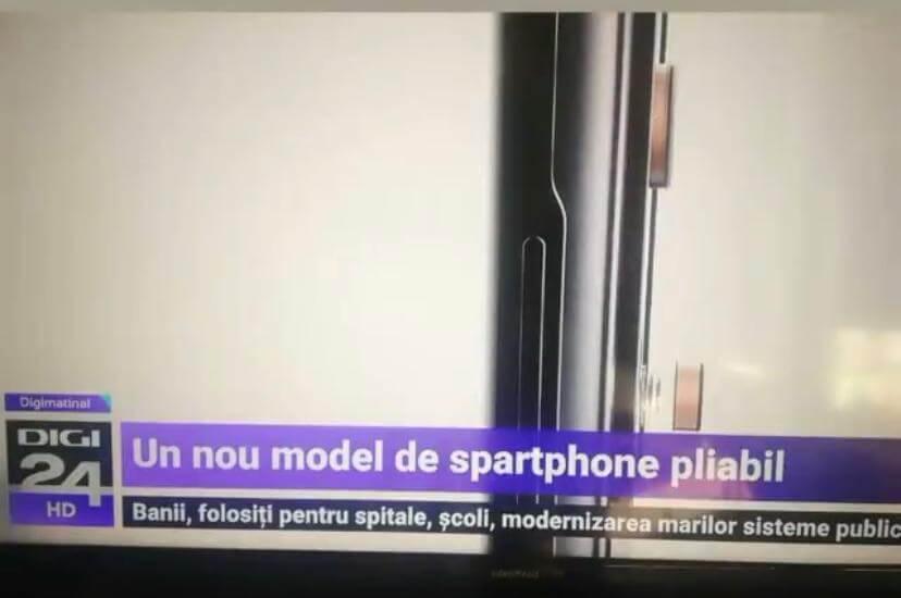 """Digi24 anunță un """"spartphone"""" pliabil"""