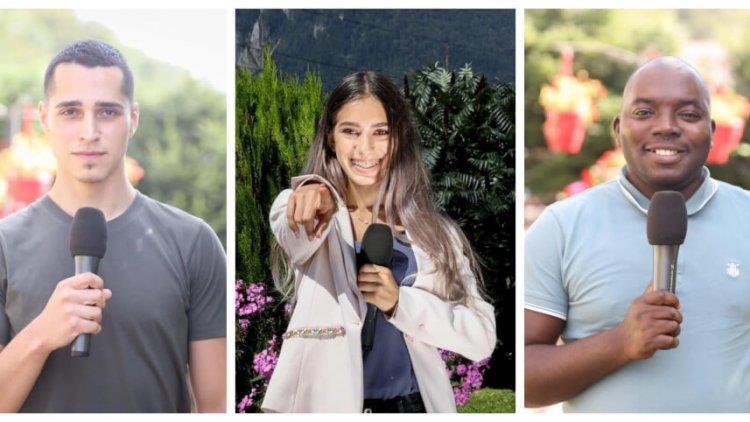 Casiana, Matei și Marcial, din Tabăra TV direct în televiziune