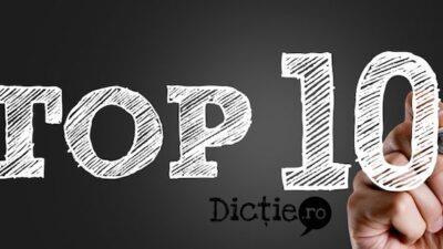 Top 10 cacofonii acceptate/acceptabile
