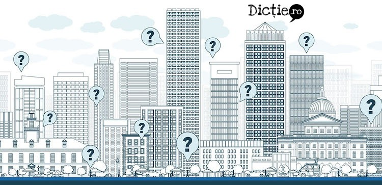 Demonimele –cum se numesc locuitorii unei entități geografice?