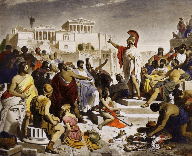 Public speaking: sfaturi de la vorbitorii Greciei Antice